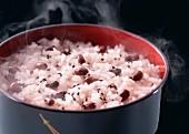 Reis mit Adzukibohnen