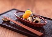 Mushrooms as an appetiser, Japan