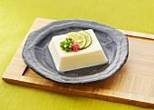 Tamago tofu (cold tofu pudding, Japan)