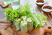 Rice paper rolls with pork (Vietnam)