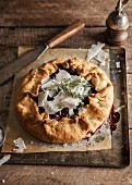 Beach fruit galette with Parmesan and thyme