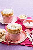 Coffee custard Souffle