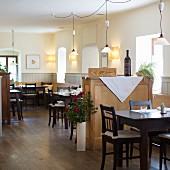 Im Restaurant Saziani Stub'n, Steiermark, Österreich