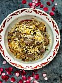 Beef Biryani (beef with rice, India)