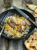 Yakni Pilau (rice with chicken, India)