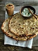 Paratha (unleavened bread, India)