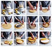 Eine Zitronentarte zubereiten