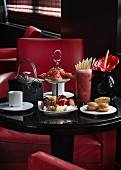 Teatime im modernen Asia-Restaurant