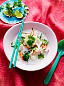 Tom Khaa Gai (coconut soup with chicken, Thailand)