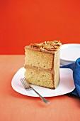 Caramel pretzel cake