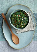 Spicy spinach (China)