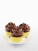 Elegant chocolate cupcakes