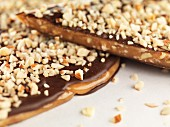 Chocolate and almond caramel