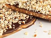 Chocolate and almond caramel