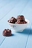 Caramel filled chocolates