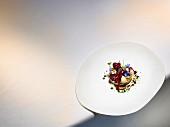Gericht von Christian Hümbs: Dessert der Kirsche aus dem alten Land
