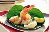 Yum Talay (seafood salad, Thailand)