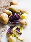 Varieties of potato (topic: menu express)