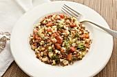 Quinoa and sweetcorn salad