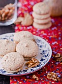 Macaroons and walnuts