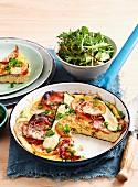 Gegrilltes Pancetta Omelett