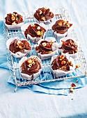 Chocolate hazelnut fairy cakes