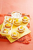 Coconut, Carrot & Orange Muffins