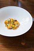 Tortelloni with mushrooms