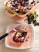 Elderberry bake
