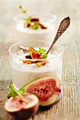 Fig and quark cream