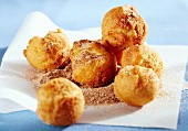 Bullebasches (deep-fried pastry balls, Eastern Frisia, Germany)