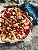 Roasted Fruit salad
