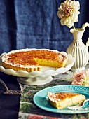 Lemon and Coconut Tart