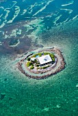 A small private island off Marathon, Keys, Florida
