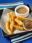 Churros with cinnamon and coconut sugar (Mexico)