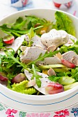 Coronation salad (British chicken salad)