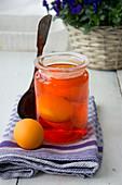 Ostereier orange färben