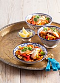 Fish tagine with peppers