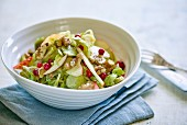 Brussels sprout salad with lingonberries