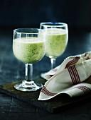 Herbal drinks with tofu