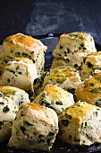 Savoury scones with herbs