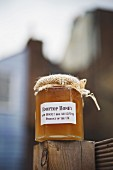 Honey produced on the roof of The Dairy Restaurant, London, England