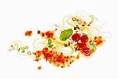 Spaghettis à la bolognaise with basil