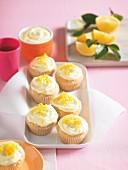 Zitronencupcakes, glutenfrei
