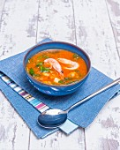 Fish stew with prawns (France)