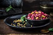 Linsensalat aus Südindien