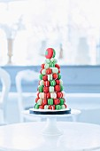 A macaroon Christmas tree