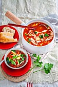 Chicken & Chorizo Minestrone