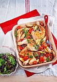 Pesto Chicken Maryland
