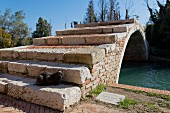 Devils Bridge on the island of Torcello near Venice, Italy